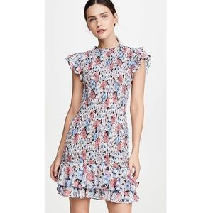 Veronica Beard smocked floral dress